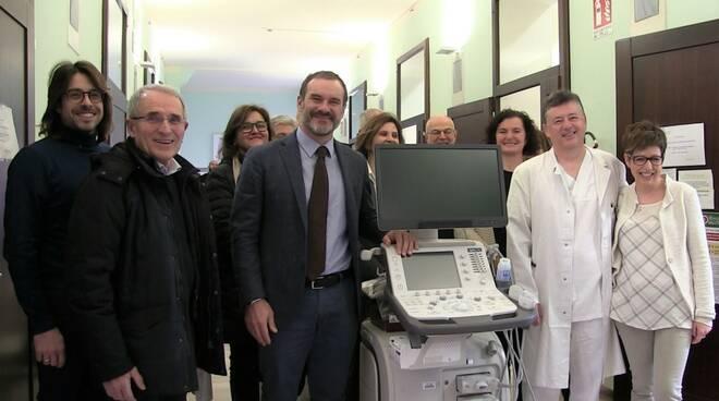 06 02 2020 inaugurazione ecotomografo per Ospedale di Lugo (foto da ravennanotizie)