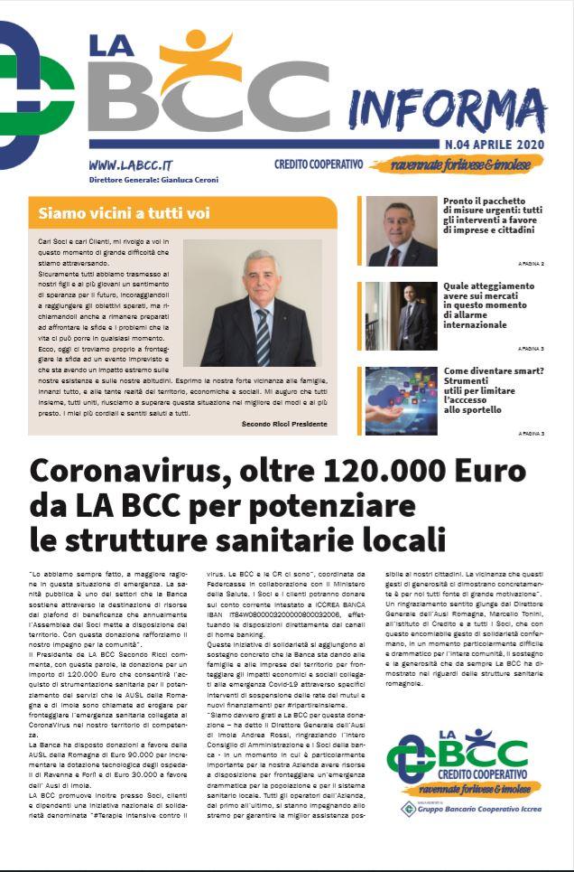 LA BCC Informa Aprile 2020
