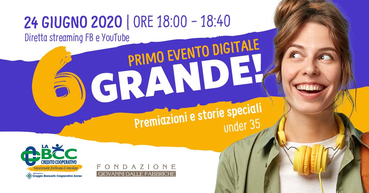 Segui l'evento su Facebook e YouTube