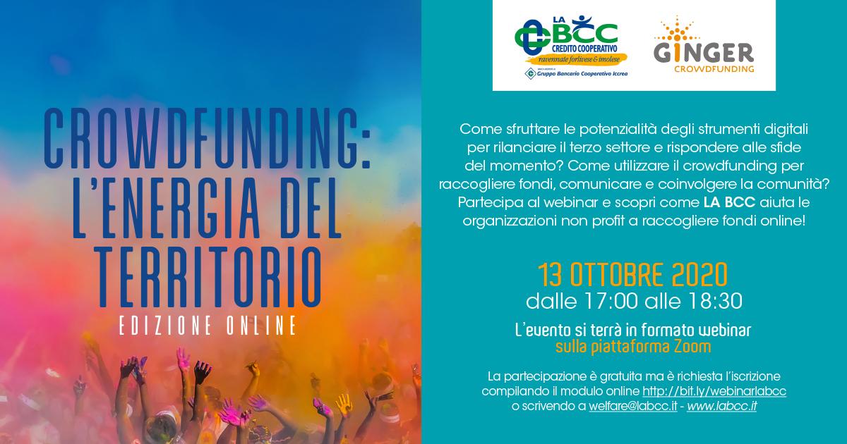 LA BCC con il crowdfunding al fianco del territorio