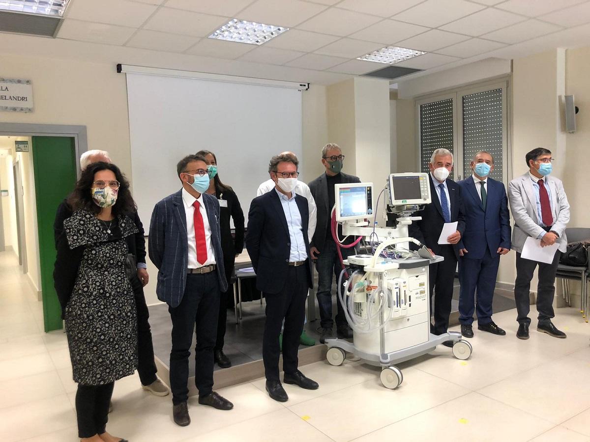 La donazione de LA BCC agli ospedali di Ravenna, Faenza, Forlì