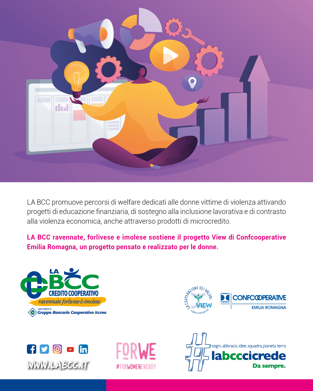 la bcc sostiene le donne vittima di violenza