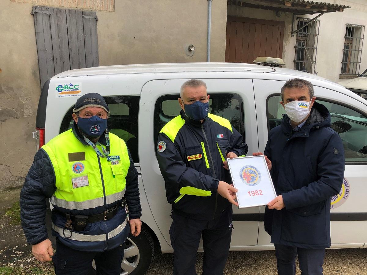 Protezione Civile Faenza e LA BCC
