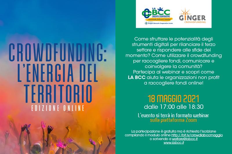 crowdfunding terzo settore la bcc