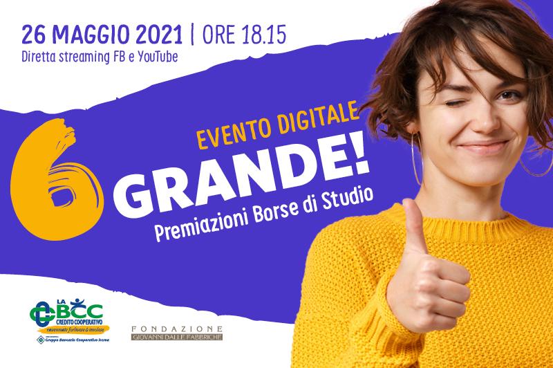 BORSE DI STUDIO LA BCC 2021