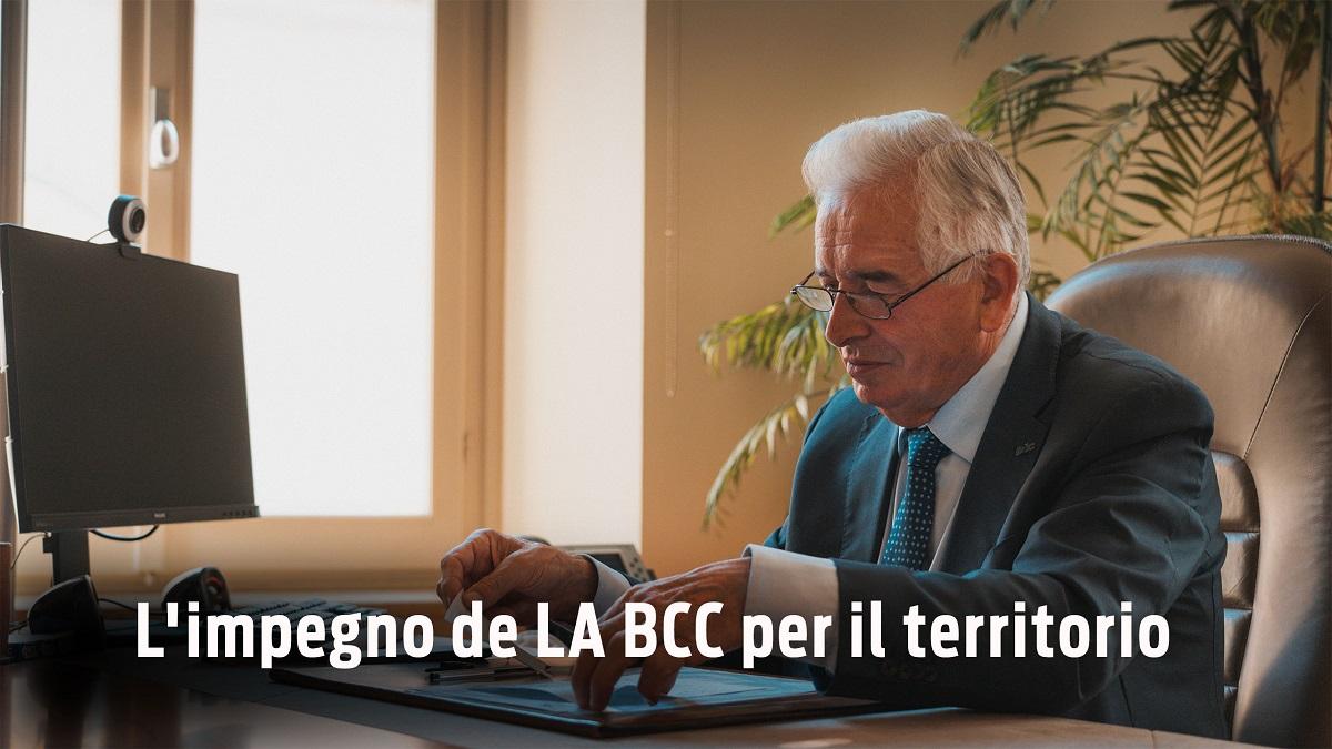 impegno de la bcc per il territorio