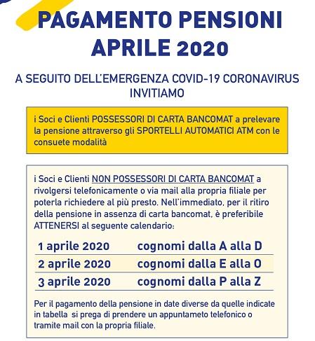 pensioni _ 1 aprile