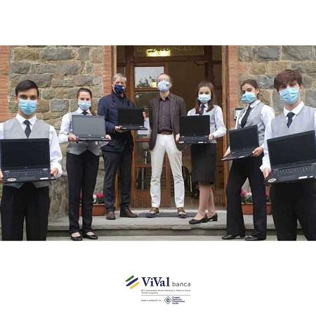 ViVal Banca e Lions Montecatini Terme donano 6 PC