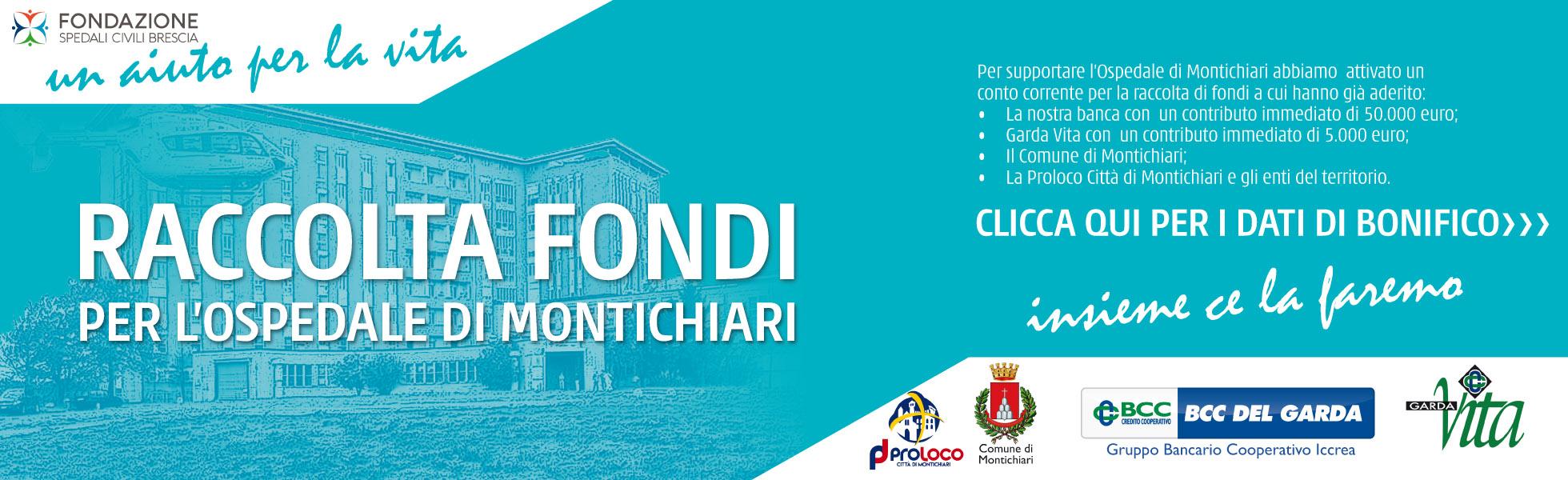 Raccolta Fondi Ospedale Montichiari