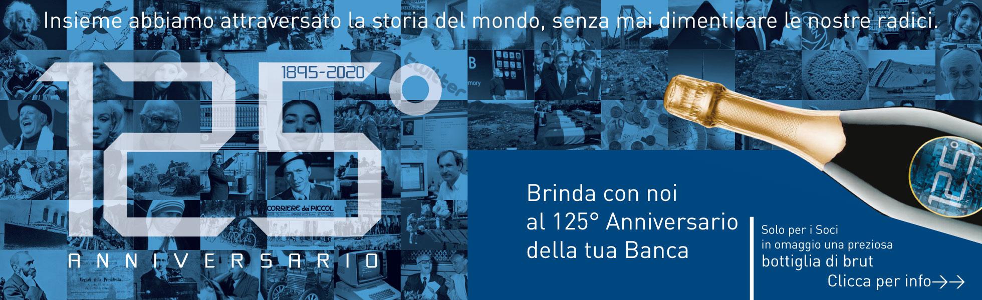 Banner 125 anniversario