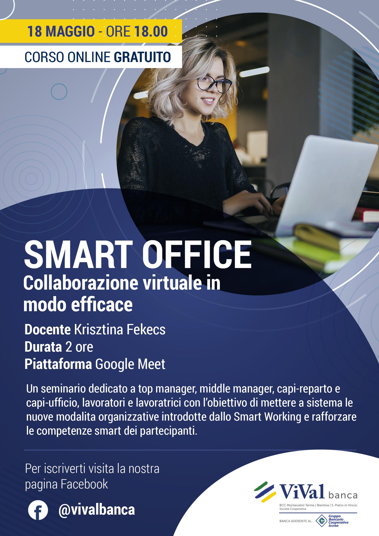 volantino corso smart office_vivalbanca