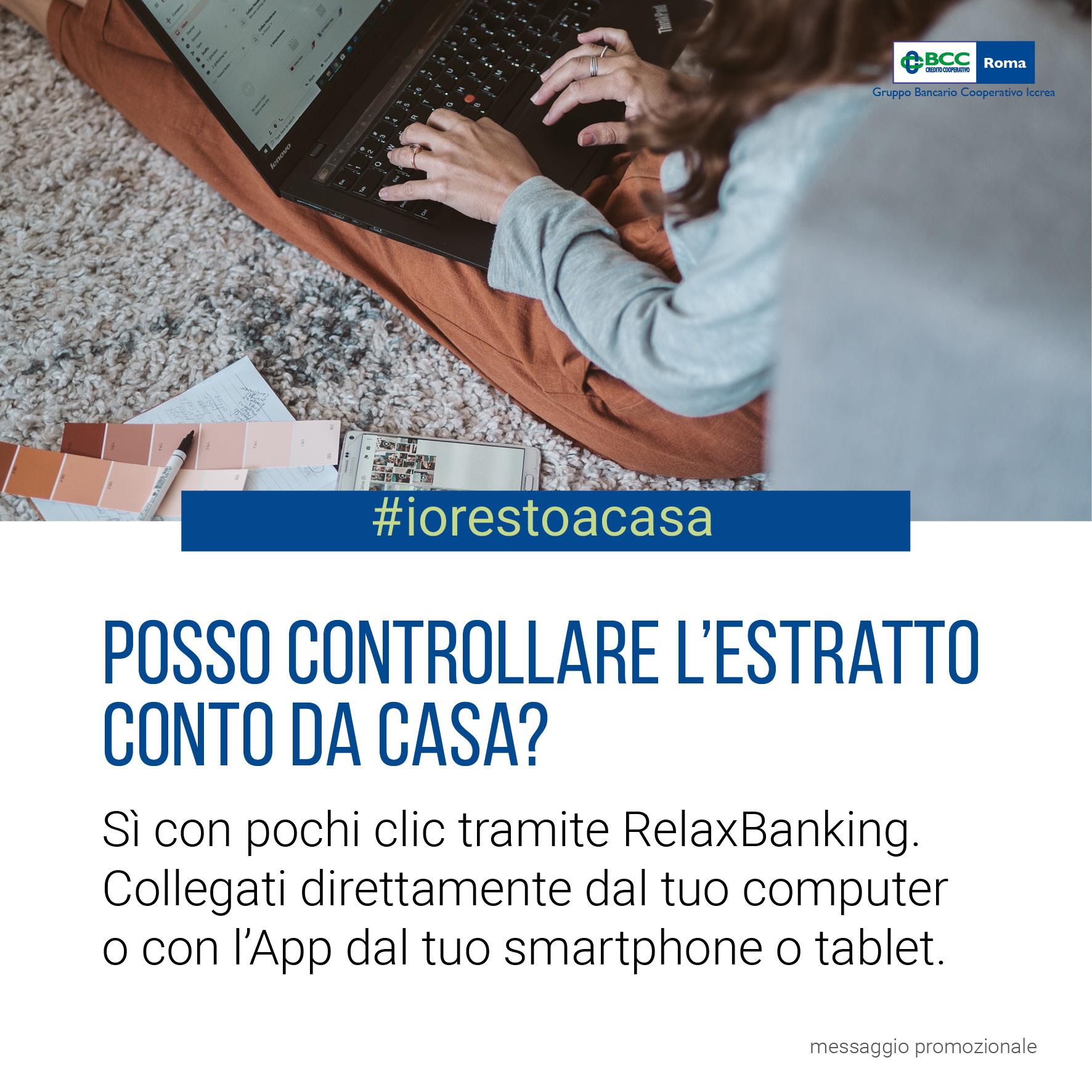 IoRestoaCasa EstrattoConto - RELAX