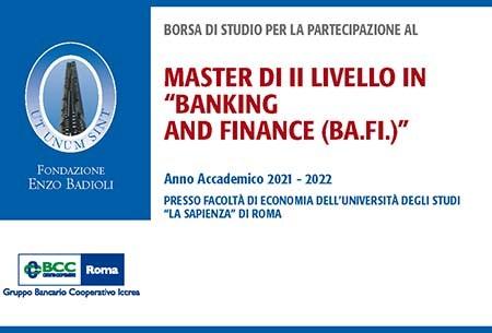 Borsa di studio Fondazione Badioli 450 x 305