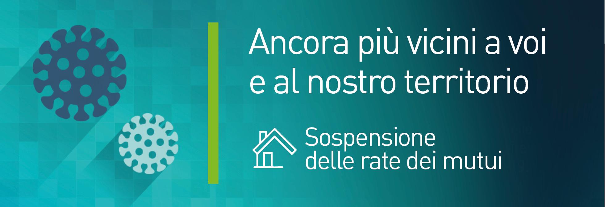 banner sospensione rate mutui