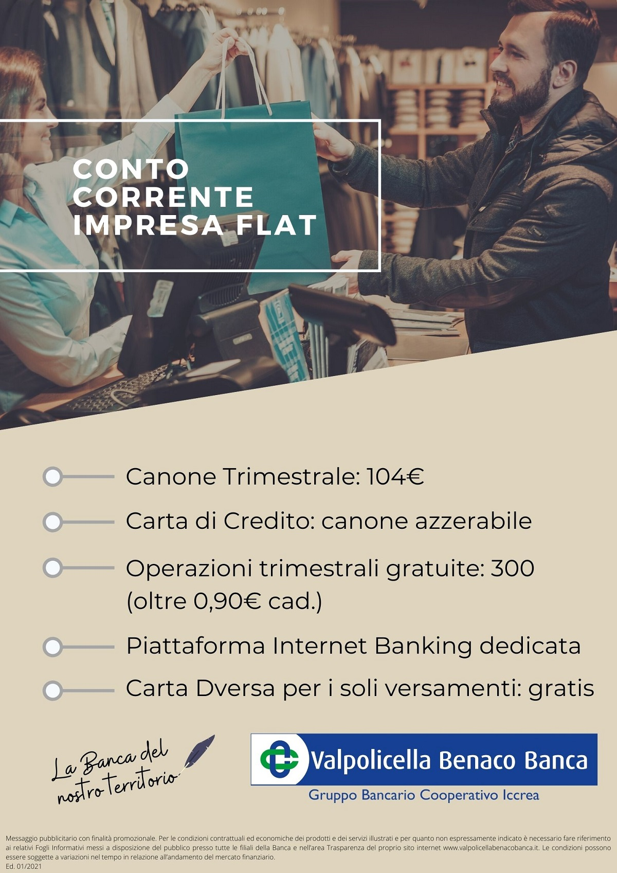 Conto Corrente Impresa Flat 2021