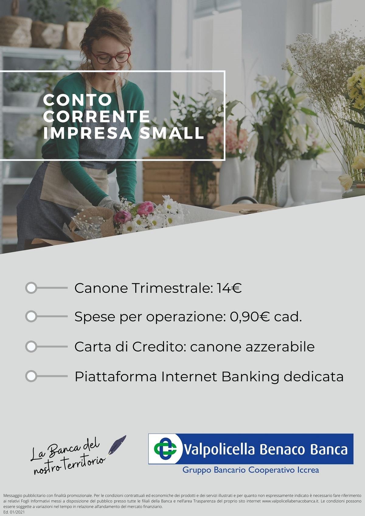 Conto Corrente Impresa Small 2021