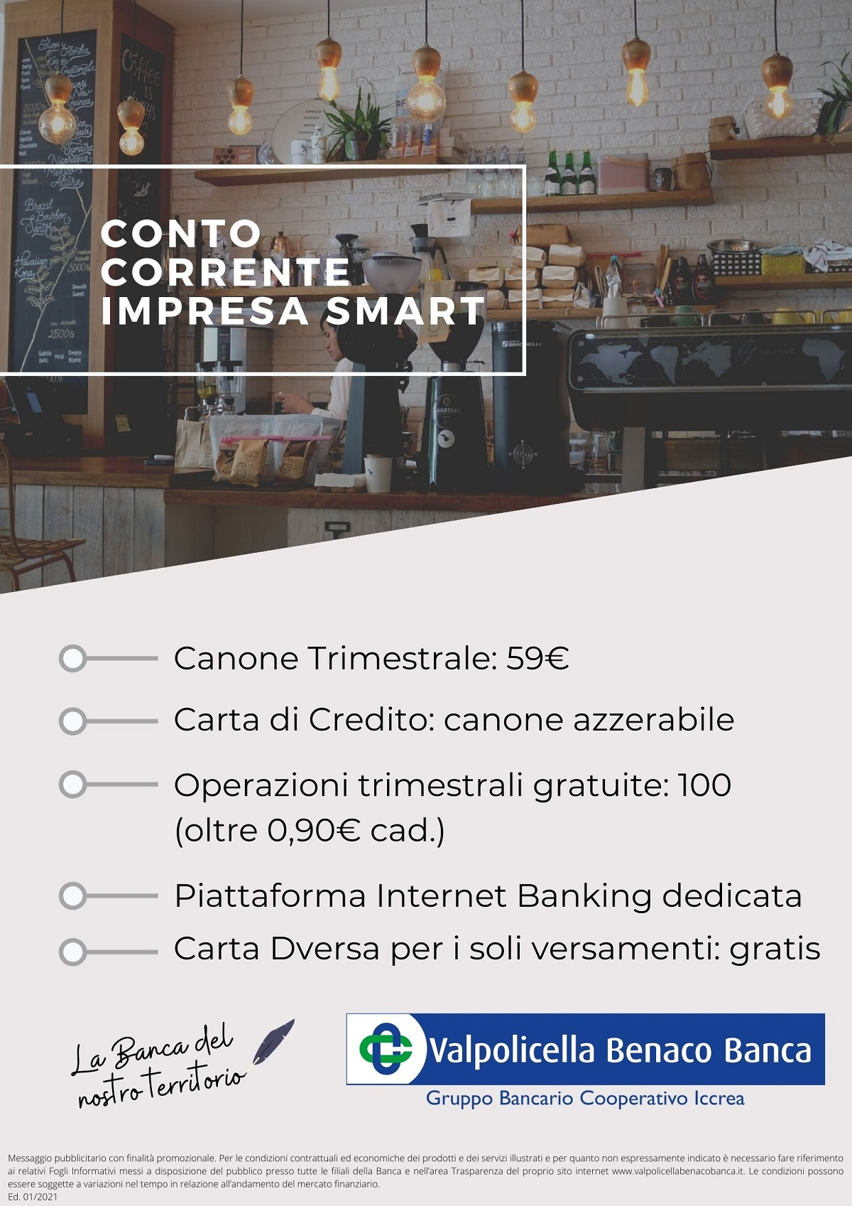 Conto Corrente Impresa Smart 2021