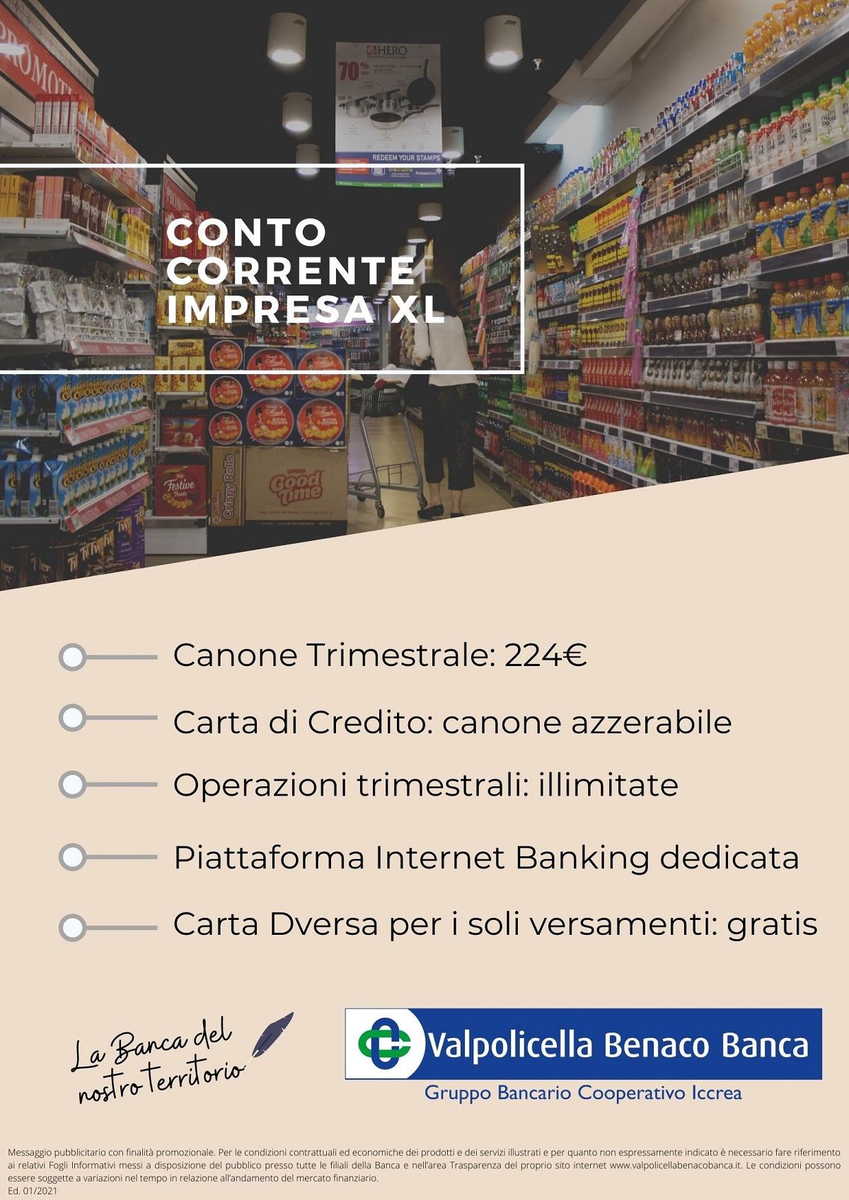 Conto Corrente Impresa XL 2021