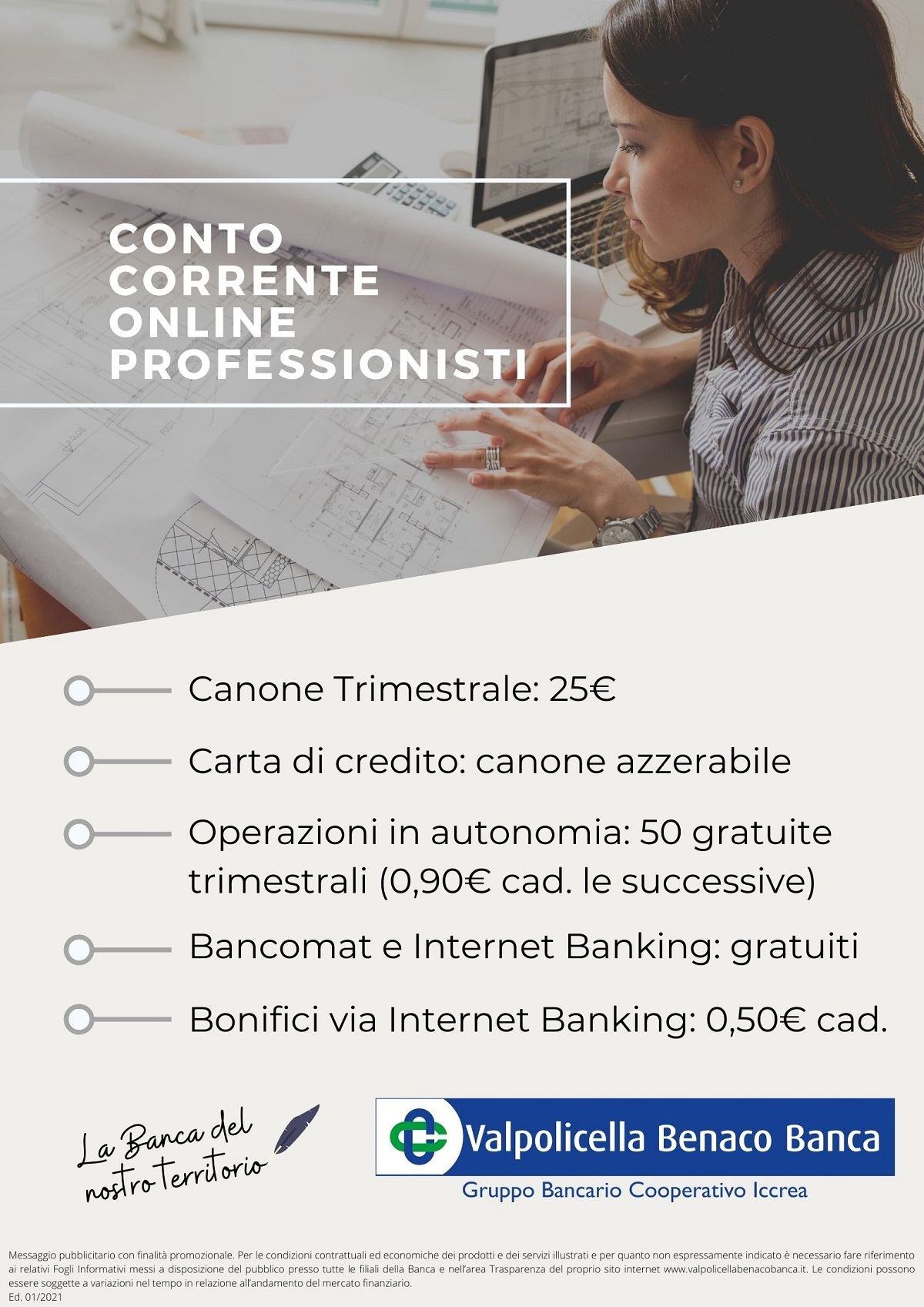 Conto Corrente Online Business Professionisti 2021