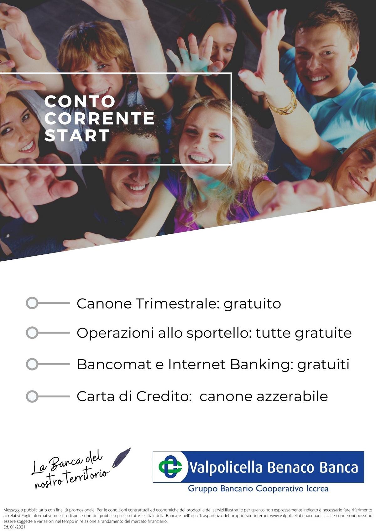 Conto Corrente Start 2021