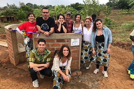 Malawi inaugurazione del pozzo donato dai nostri Comitati Giovani Soci
