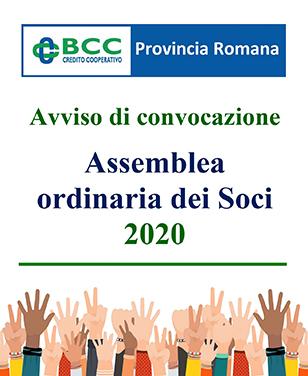 Assemblea ordinaria dei Soci 2020