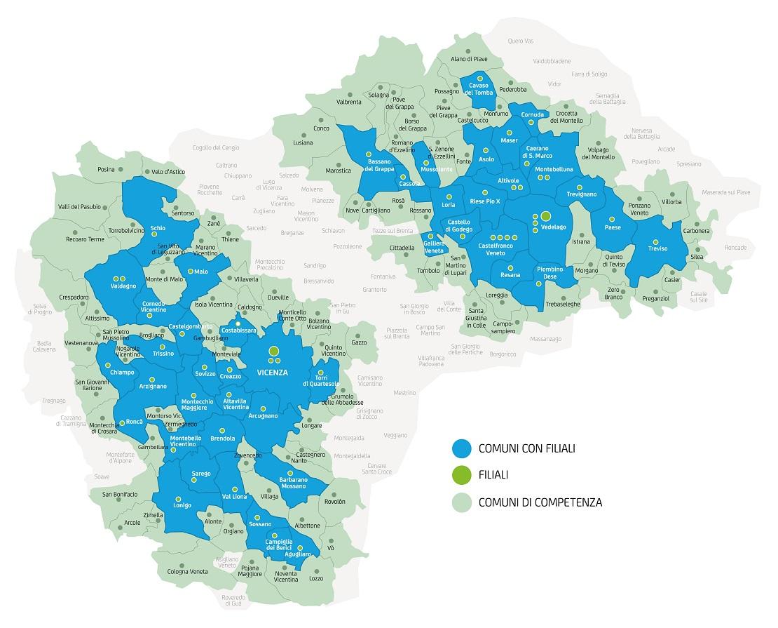 Mappa aree di competenza