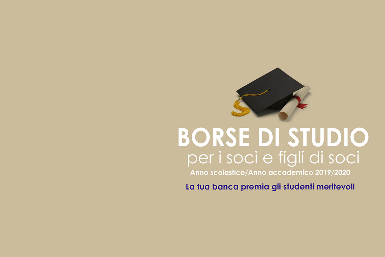 Banner in evidenza Borse di studio