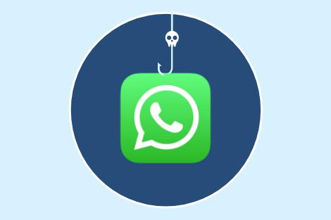 Messaggio di assistenza su WhatsApp